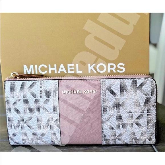 6847de8f942c6d MICHAEL Michael Kors Bags | Michael Kors Center Stripe Ballet ...